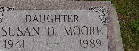 MOORE, SUSAN D. - Ida County, Iowa   SUSAN D. MOORE