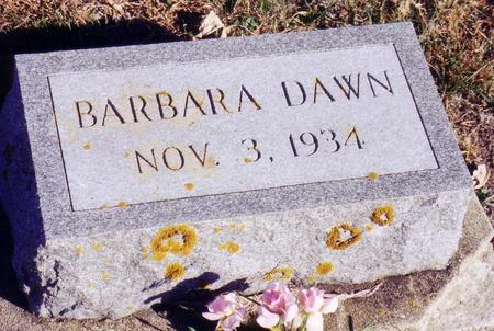 MOOREHEAD, BARBARA DAWN - Ida County, Iowa | BARBARA DAWN MOOREHEAD