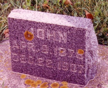 MOOREHEAD, JOHN - Ida County, Iowa | JOHN MOOREHEAD