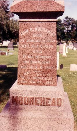 MOOREHEAD, JOHN H. - Ida County, Iowa   JOHN H. MOOREHEAD