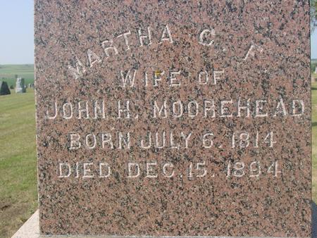 MOOREHEAD, MARTHA  C. F. - Ida County, Iowa | MARTHA  C. F. MOOREHEAD