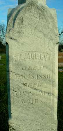 MOREY, J. L. - Ida County, Iowa | J. L. MOREY