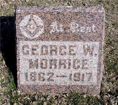 MORRICE, GEORGE W. - Ida County, Iowa | GEORGE W. MORRICE