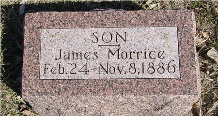 MORRICE, JAMES - Ida County, Iowa | JAMES MORRICE
