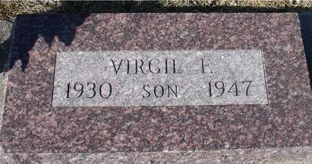 MORRICE, VIRGIL F. - Ida County, Iowa   VIRGIL F. MORRICE