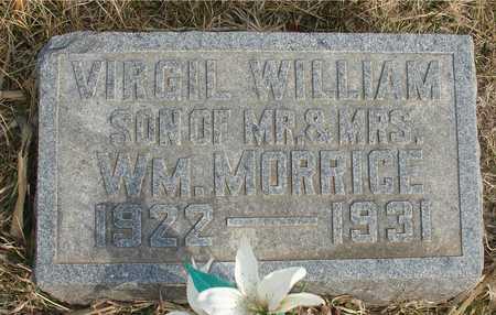 MORRICE, VIRGIL WILLIAM - Ida County, Iowa   VIRGIL WILLIAM MORRICE