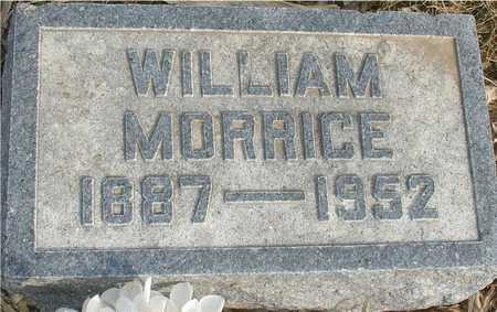 MORRICE, WILLIAM - Ida County, Iowa   WILLIAM MORRICE