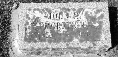 MORRISON, JOHN M. - Ida County, Iowa   JOHN M. MORRISON