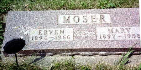 MOSER, ERVEN - Ida County, Iowa   ERVEN MOSER
