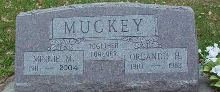 MUCKEY, ORLANDO & MINNIE - Ida County, Iowa | ORLANDO & MINNIE MUCKEY