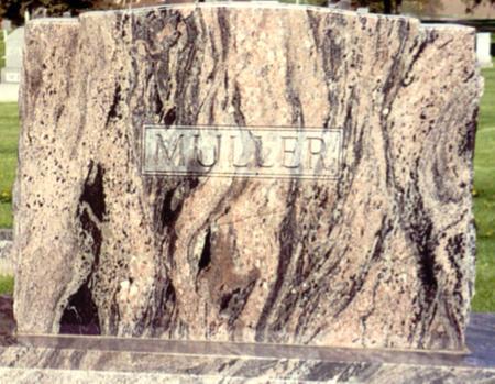 MULLER, WILLIAM - Ida County, Iowa | WILLIAM MULLER
