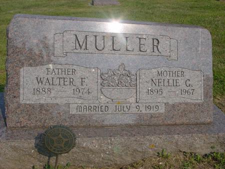MULLER, WALTER & NELLIE - Ida County, Iowa | WALTER & NELLIE MULLER