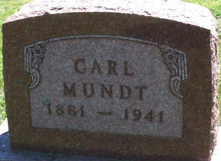 MUNDT, CARL - Ida County, Iowa   CARL MUNDT