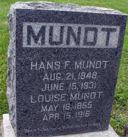 MUNDT, HANS & LOUISE - Ida County, Iowa | HANS & LOUISE MUNDT