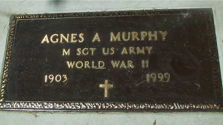 MURPHY, AGNES A. - Ida County, Iowa   AGNES A. MURPHY