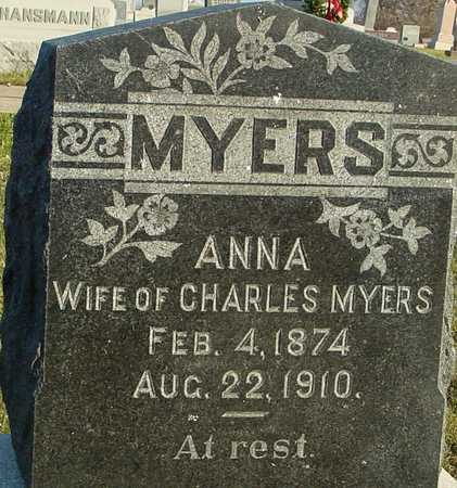 MYERS, ANNA - Ida County, Iowa   ANNA MYERS