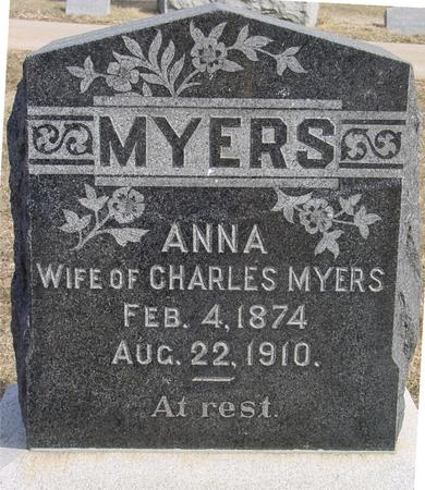 MYERS, ANNA - Ida County, Iowa | ANNA MYERS