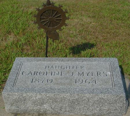 MYERS, CAROLINE J. - Ida County, Iowa   CAROLINE J. MYERS