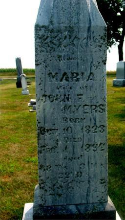 MYERS, MARIA - Ida County, Iowa | MARIA MYERS