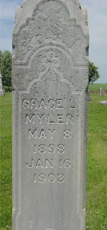 MYLER, GRACE L. - Ida County, Iowa | GRACE L. MYLER