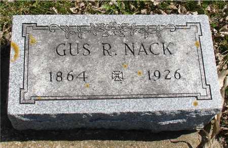 NACK, GUS R. - Ida County, Iowa | GUS R. NACK