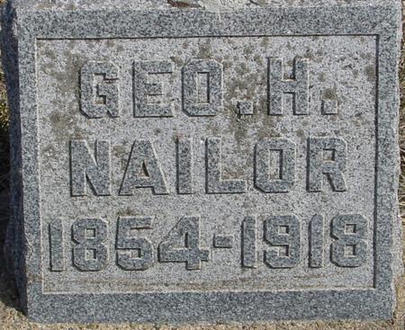 NAILOR, GEORGE H. - Ida County, Iowa | GEORGE H. NAILOR