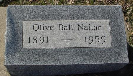 NAILOR, OLIVE - Ida County, Iowa | OLIVE NAILOR