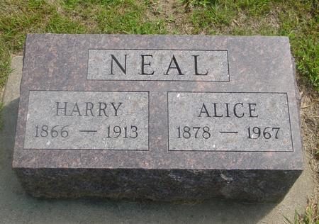 NEAL, HARRY & ALICE - Ida County, Iowa | HARRY & ALICE NEAL