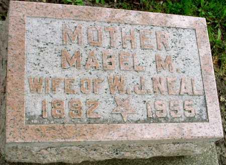 NEAL, MABEL W. - Ida County, Iowa   MABEL W. NEAL
