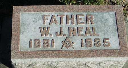 NEAL, W. J. - Ida County, Iowa | W. J. NEAL