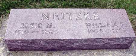 NEITZKE, WILLIAM & ELSIE - Ida County, Iowa | WILLIAM & ELSIE NEITZKE