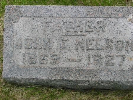 NELSON, JOHN  E. - Ida County, Iowa | JOHN  E. NELSON
