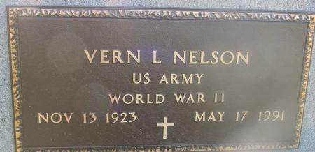 NELSON, VERN - Ida County, Iowa   VERN NELSON
