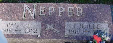 NEPPER, PAUL B. & LUCILLE - Ida County, Iowa | PAUL B. & LUCILLE NEPPER
