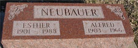 NEUBAUER, ALFRED & ESTHER - Ida County, Iowa | ALFRED & ESTHER NEUBAUER