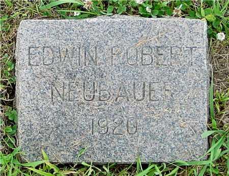 NEUBAUER, EDWIN ROBERT - Ida County, Iowa | EDWIN ROBERT NEUBAUER