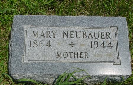 NEUBAUER, MARY - Ida County, Iowa | MARY NEUBAUER