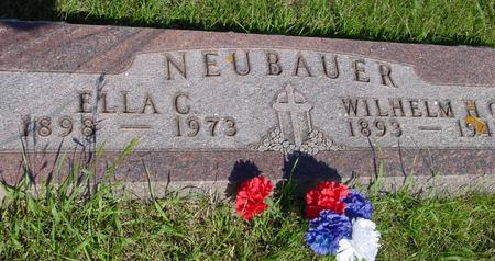 NEUBAUER, WILHELM - Ida County, Iowa | WILHELM NEUBAUER