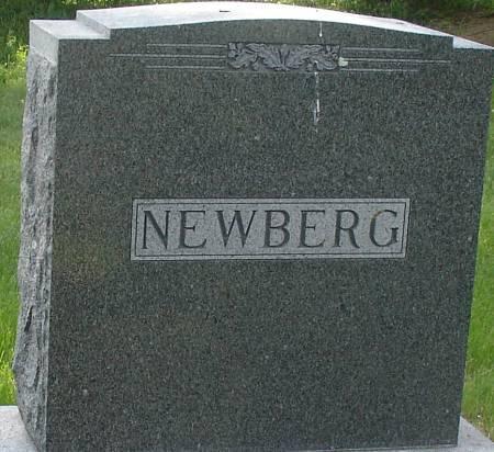NEWBERG, FAMILY MARKER - Ida County, Iowa   FAMILY MARKER NEWBERG