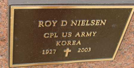 NIELSEN, ROY D. - Ida County, Iowa   ROY D. NIELSEN