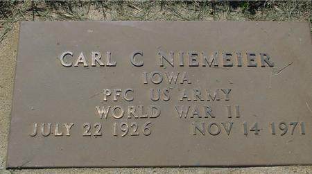 NIEMEIER, CARL  C. - Ida County, Iowa | CARL  C. NIEMEIER
