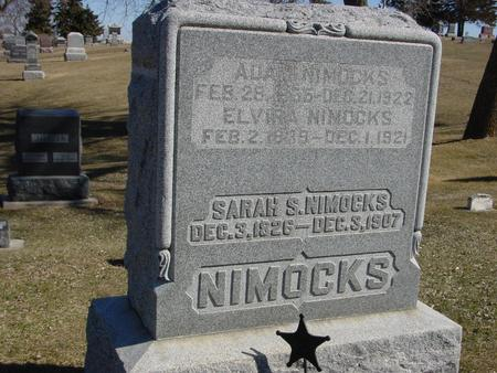 NIMOCKS, SARAH S. - Ida County, Iowa   SARAH S. NIMOCKS