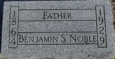 NOBLE, BENJAMIN S. - Ida County, Iowa | BENJAMIN S. NOBLE