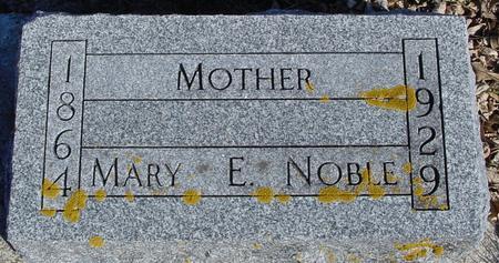 NOBLE, MARY E. - Ida County, Iowa | MARY E. NOBLE