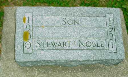 NOBLE, STEWART - Ida County, Iowa | STEWART NOBLE