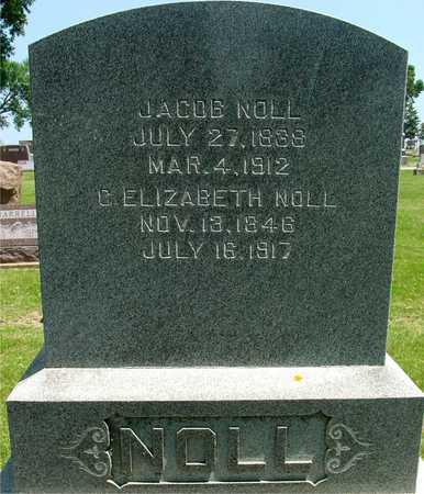 NOLL, JACOB  & C. ELIZABETH - Ida County, Iowa   JACOB  & C. ELIZABETH NOLL