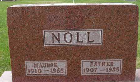 NOLL, MAUDIE & ESTHER - Ida County, Iowa   MAUDIE & ESTHER NOLL