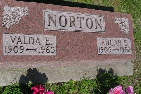 NORTON, EDGAR E. & VALDA E. - Ida County, Iowa | EDGAR E. & VALDA E. NORTON