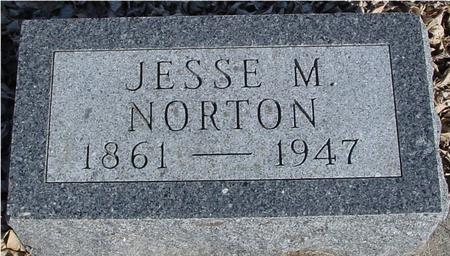 NORTON, JESSE M. - Ida County, Iowa   JESSE M. NORTON