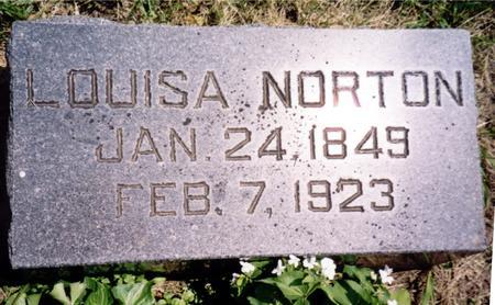 NORTON, LOUISA - Ida County, Iowa | LOUISA NORTON